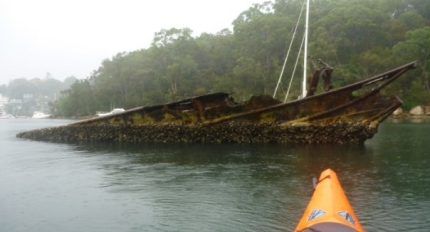 Cobaki wreck, Salt Pan Cove (Sydney)