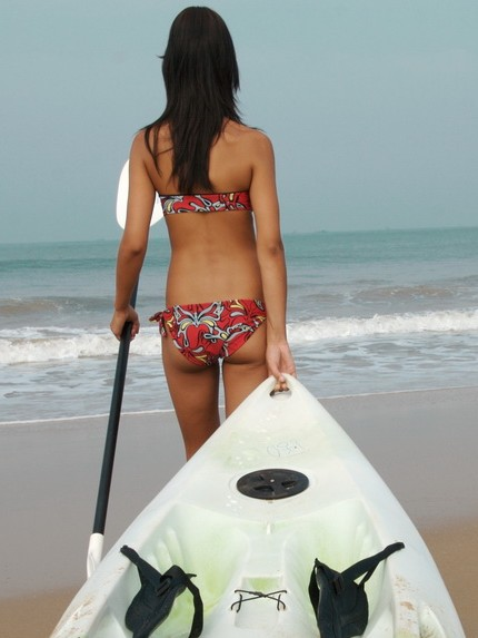 The short surf-ski has a certain appeal...