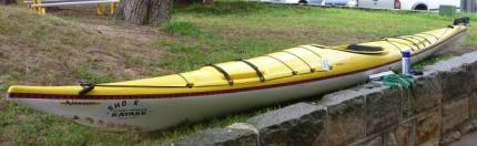 Boréal Design Nanook fibreglass kayak