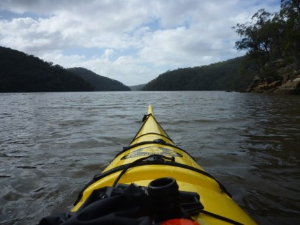 Endless hills and water... Ku-rang-gai Chase National Park