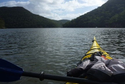 Think how many non-paddlers miss out on natural scenes like this?