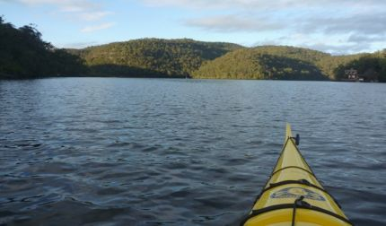 Paddling Berowra Waters