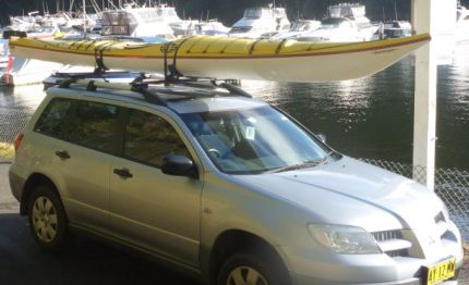 Fat Paddler off home after the paddle