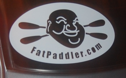 New FatPaddler.com car stickers