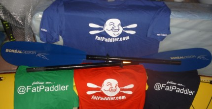 FatPaddler tshirts... available soon!