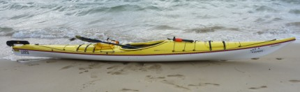 Fat Paddler's new kayak - Boréal Nanook