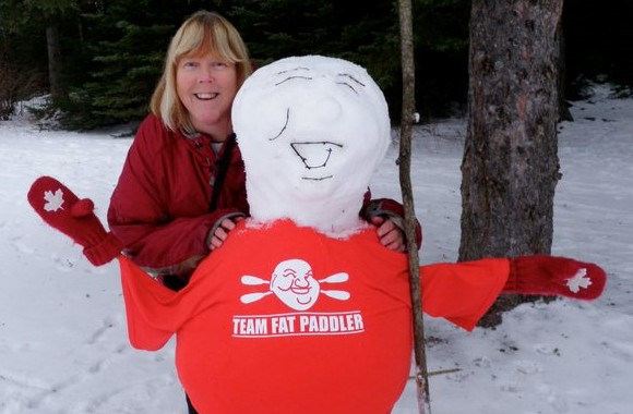 A Fat Snowman!! Thunder Bay, Canada (thx to Chris Johnston)