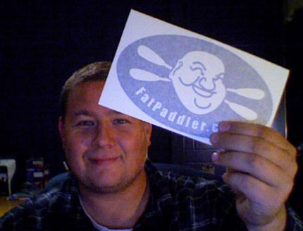 Sticker received, Central Coast NSW, Australia - @Kiryn