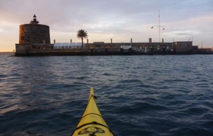 Fort Denison, Sydney Harbour. Once a convict prison.