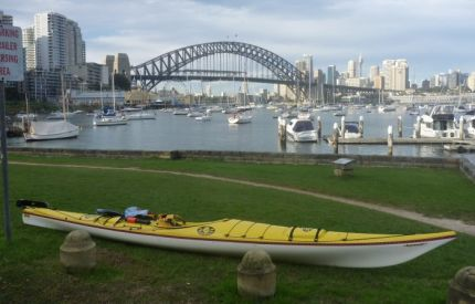 End of the paddle - Lavender Bay, Sydney