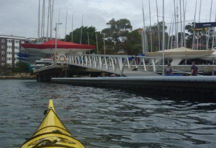 Royla Yacht Squadron in Kiribilli