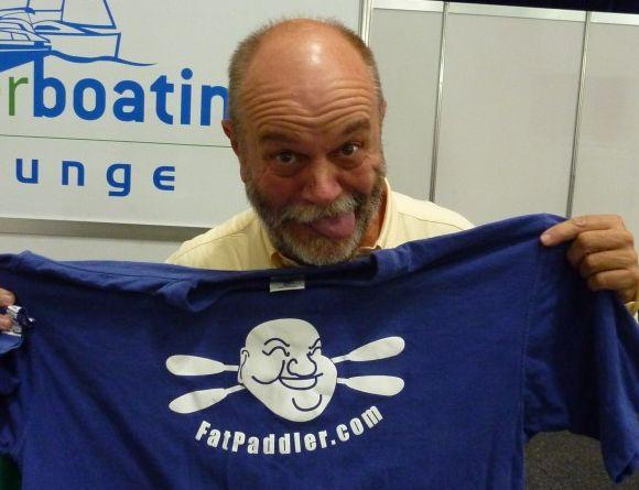Aussie adventuring supremo Don McIntyre, Sydney International Boat Show