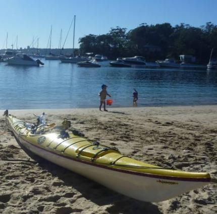 A last look at Balmoral Beach before the return leg home...