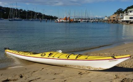 End of the paddle - The Spit, Sydney. Still glassy!