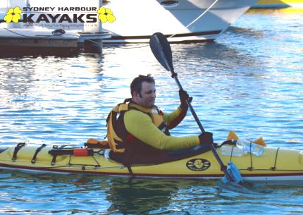 Sea-kayak lesson, Sydney Harbour Kayaks