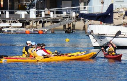 Sea-kayak lessons at Sydney Harbour Kayaks