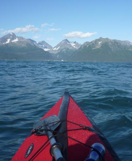 Kayaking Resurrection Bay, Alaska in Folbot Cooper