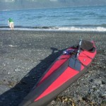 "Folbot Cooper on the ""beach"", Seward Alaska"