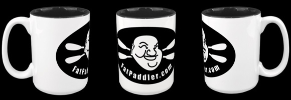Fat Paddler over-sized coffee mugs