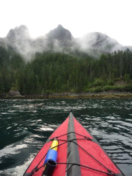 Majestic mountains everywhere. Alaska.