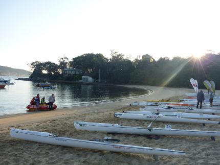 The weapons primed and ready for use, Balmoral Beach Sydney
