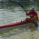 Fat Paddler trying to balance the Fenn XT