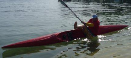Oops! Man overboard!