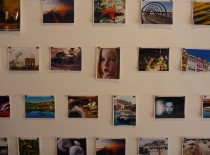 Exhibitor collage - my photo of the Alaska Railroad featured prominantly