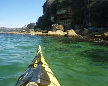 Clear green waters on Middle Harbour