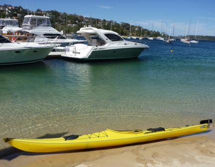 Sydney Harbour Kayaks - a terrible place to work...