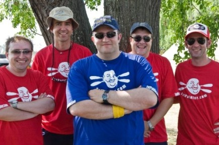 Team Fat Paddler - Grummett, Ned, FP, Darryl, Burnsie