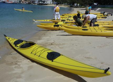 Shrike B450 plastic sea & surf kayak