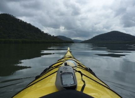 The mighty Hawkesbury River