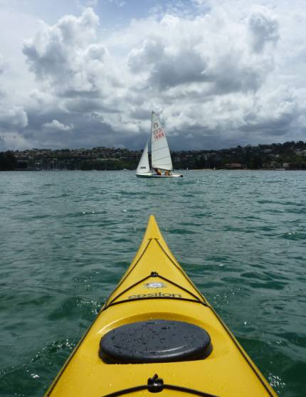 Epsilon P300 - A relaxing paddle amongst the yachts to finish up