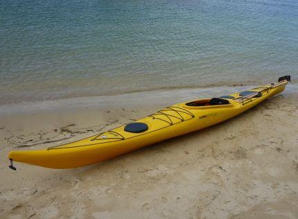 Epsilon P300 - a damn sexy kayak