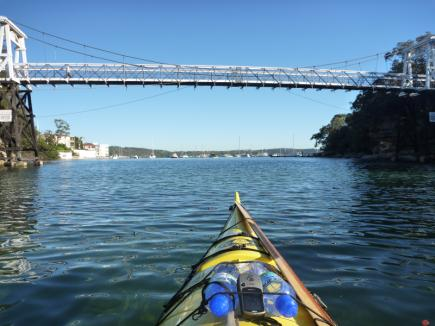Walkers bridge over Parsley Bay