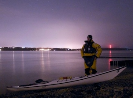 Stealth-mode kayaking! (Image credit: solentseakayaking.co.uk)