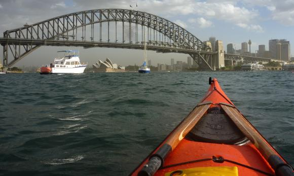 Famour Sydney landmarks... and turbulent waters