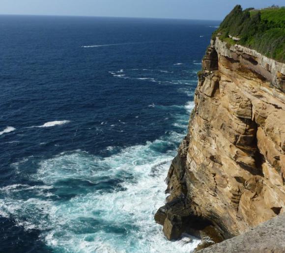 Sydney shoreline - where I'd like to paddle eventually...