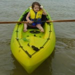 Daddy, can I have a shorter paddle next time??