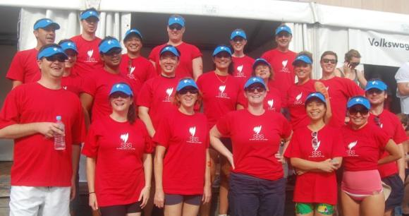 SBS Paddlers - elite athletes and feared by all other dragon boat crews...