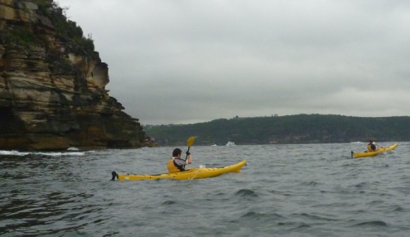 The TFP lads conquering Middle Head