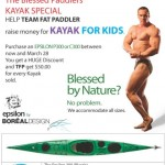 Sydney Harbour Kayaks getting behind TFP and Kayak for Kids