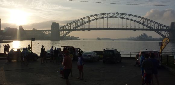 Sydney Harbour at Dawn