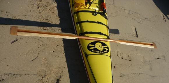 At last! A Greenland style paddle!