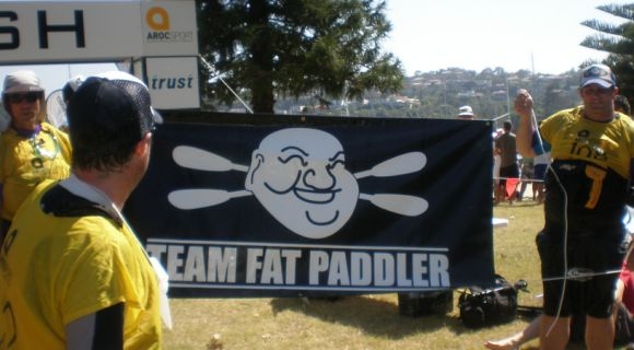 Team Fat Paddler the Lifetsart Canao/Kayak guid!