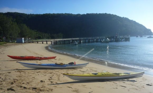 Time to relax at Mackerel Beach