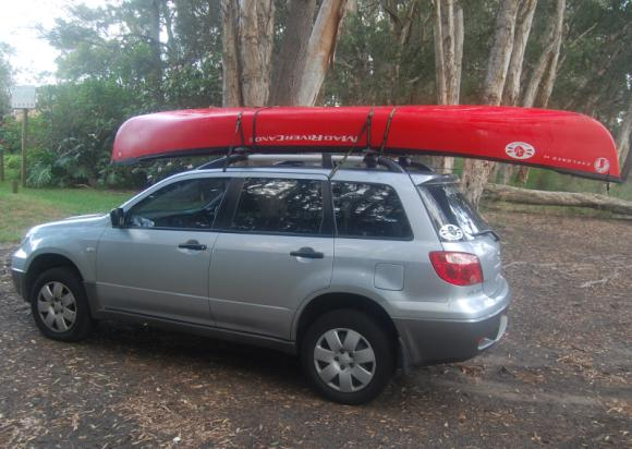 The Mad River Explorer - at 14 feet is easy to car-top