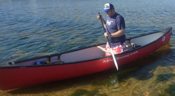 Test 2 - Solo Paddling