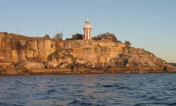 The South Head lighthouse